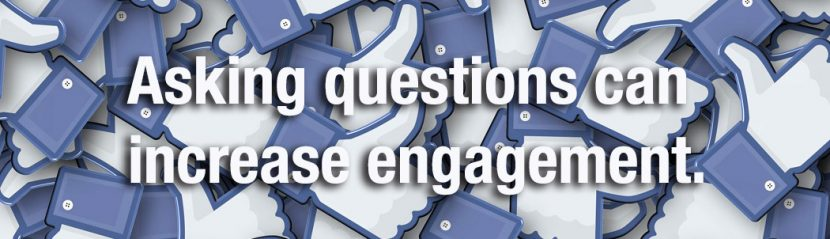 Ask questions on Facebook.