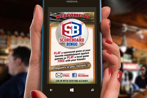 Scoreboard Bingo App