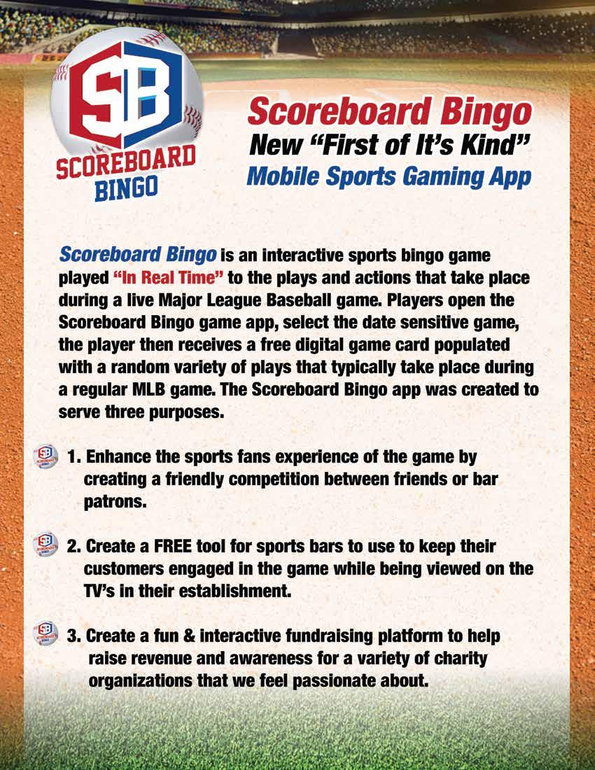 Scoreboard Bingo presentation